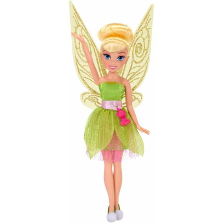 "Disney Fairies 9"" Classic Fashion Doll, Tink with Baby Bear Charm"