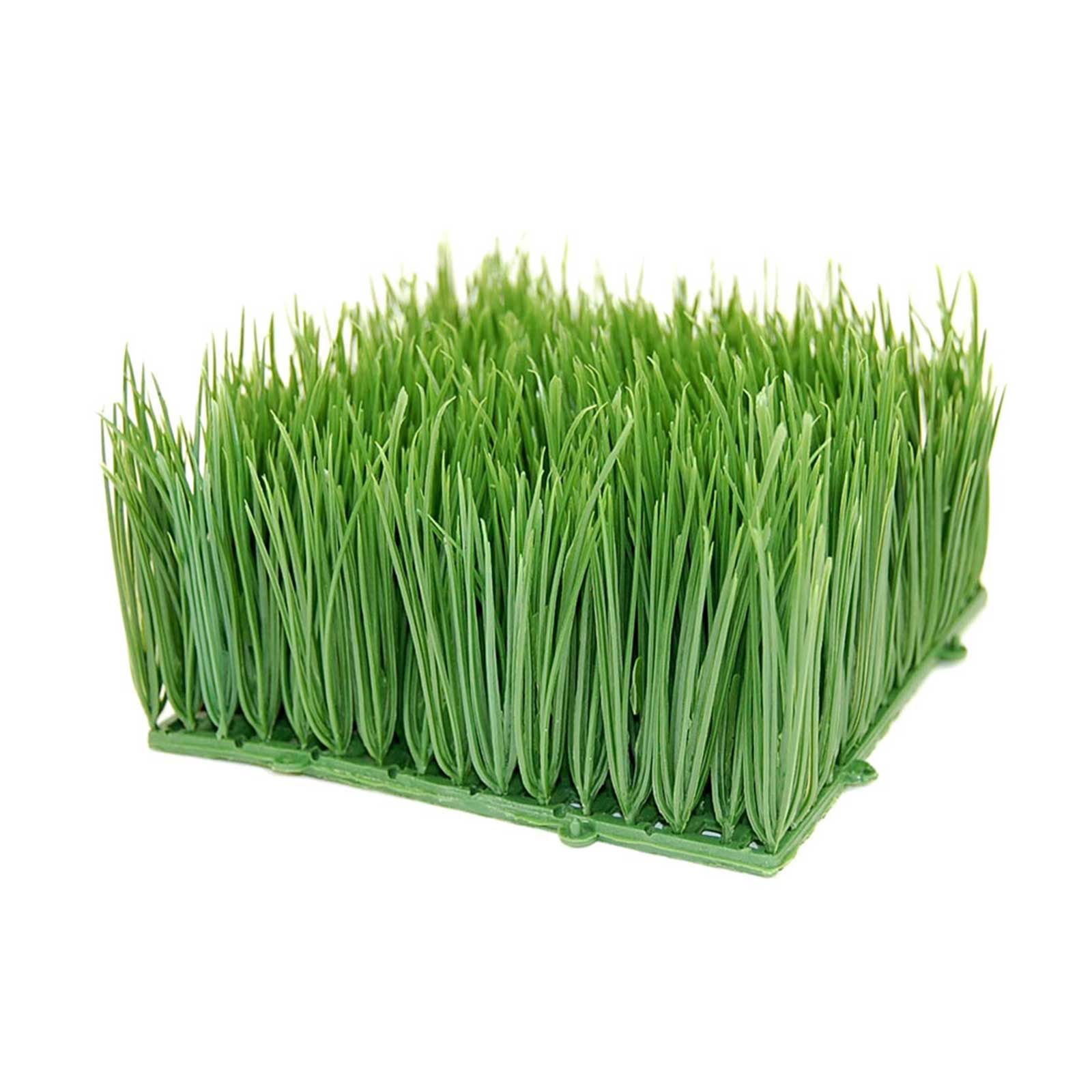 Click here to buy Artificial Wheat Grass- Fake Soft PVC Plastic Decorative Wheatgrass: Ornamantal Flower... by Handy Pantry.