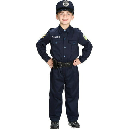 Kid's Junior Police Uniform Costume