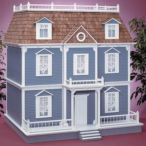Real Good Toys Williamsburg Dollhouse Kit - 1 Inch Scale