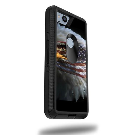 """MightySkins Skin Compatible With OtterBox Defender Google Pixel 2 XL 5.5"""" Case - America Strong 