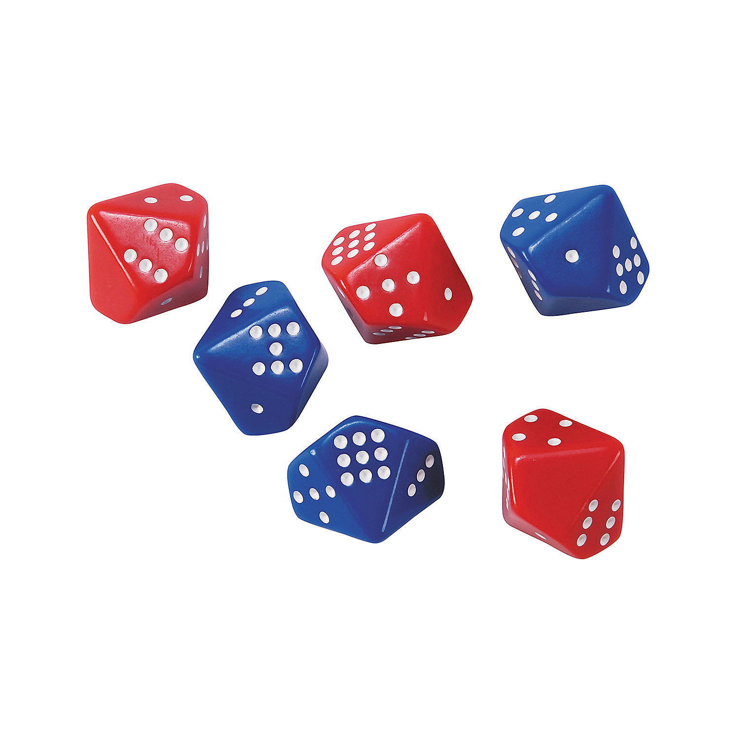IN-13847504 10 Sided Subitizing Dice By Fun Express