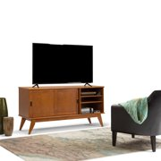 WYNDENHALL Tierney Mid-century Medium TV Media Stand for TV's up to 66 Inches