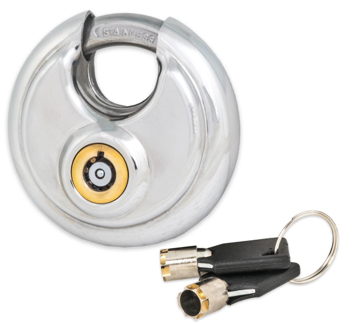 Tubular Disc Lock - 4 Pack