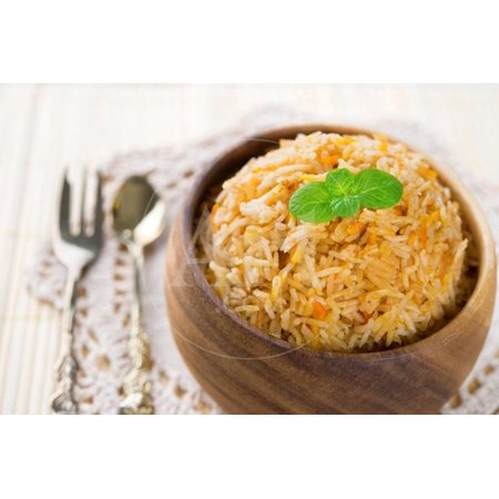 Indian Food Biryani Rice or Briyani Rice, Fresh Cooked, Indian Dish. Print Wall Art By (Best Indian Food Dishes To Order)