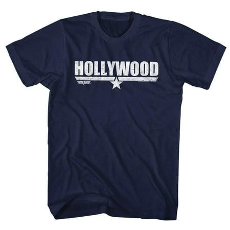 Top Gun Movies Hollywood Adult Short Sleeve T Shirt