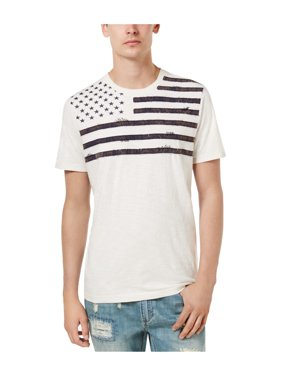 487908b772e Product Image American Rag Mens Flag Graphic T-Shirt vintagewhite XL