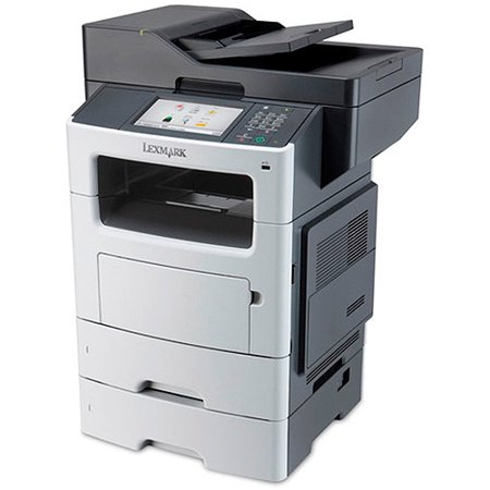 Lexmark MX611DTE Laser Multifunction Printer Copier Scanner Fax Machine by