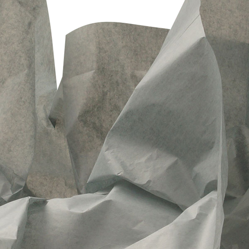 24ea - 20 X 30 Ghost Gray Quire Fold Tissue Paper by Paper Mart