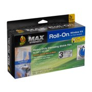 Duck Max Strength Clear Roll-On Window Insulation Kits - 3 pack, 62 in. x 120 in.