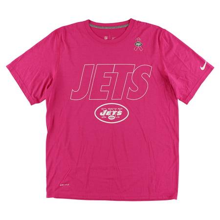 Nike Mens New York Jets Breast Cancer Awareness T Shirt Dark Pink L -  Walmart.com 8f8531c2b
