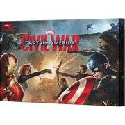 Pyramid America Captain America: Civil War Cast Canvas Wall D cor