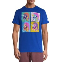 Men's Fortnite Llama Rainbow Smash Grid Graphic T-shirt