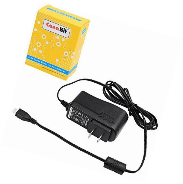 Charger UL Listed CanaKit 5V 2.5A Raspberry Pi 3 Power Supply Adapter