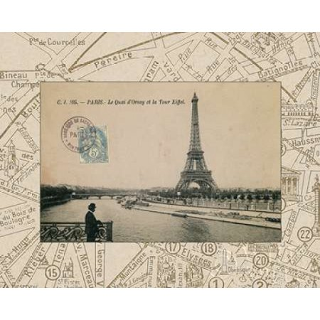Destination Roll (Destination Paris II Rolled Canvas Art - Wild Apple Portfolio (8 x 10))