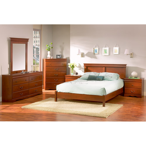 South Shore Vintage Complete 5-Piece Bedroom Set, Multiple Finishes
