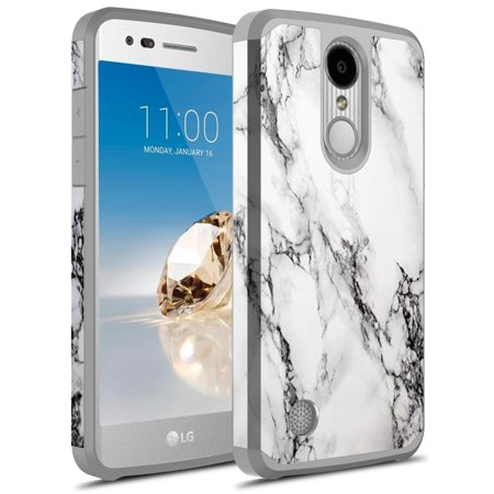 best website eafe9 5af67 LG Tribute Dynasty Case, LG Aristo 2 Case, KAESAR SLIM SLEEK Hybrid Dual  Layer Shockproof Hard Cover Graphic Fashion Cute Colorful Silicone Skin  Case ...