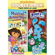 Dora and Blue's Clues Double Feature: Dora Musical School Days Blue'sBig Musical Movie by