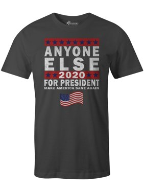 24abc968 Product Image 9 Crowns Tees Men's Anyone Else For President Funny Sarcastic  T-Shirt