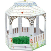 """12 Multi-Dimensional Spring Gazebo Baby Shower Party Centerpiece Decorations 10"""""""