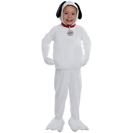 Peanuts: Snoopy Deluxe Child Halloween Costume](Snoopy Costumes For Kids)