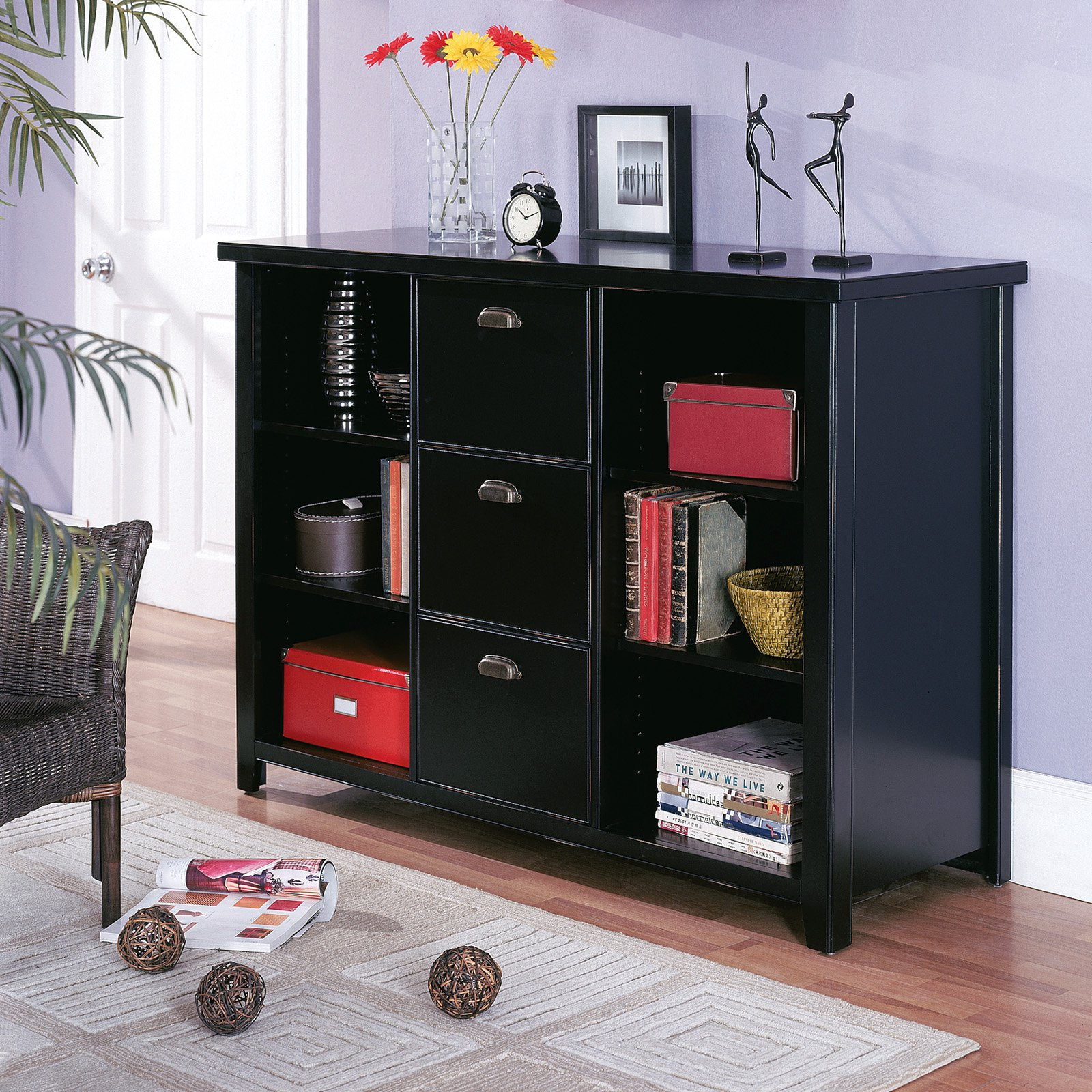 Martin Home Furnishings Tribeca Loft Cube Unit Bookcase