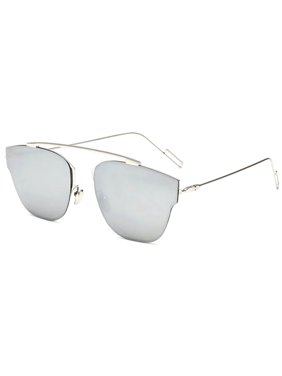 b22d173ec2 Product Image OWL Eyewear Sunglasses 86013 C2 Women s Metal Fashion Silver  Frame Silver Mirror Lens