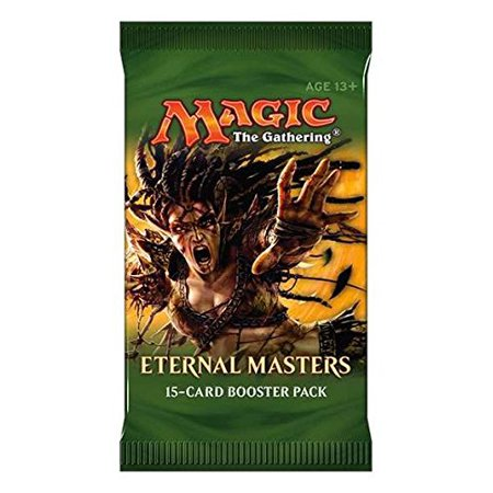 Mtg Magic Eternal Masters Booster Pack Preorder Ships On June 10Th By Magic  The Gathering