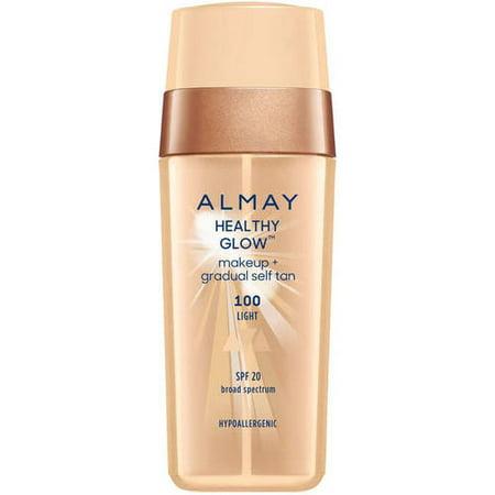 Almay Healthy Glow  Makeup   Gradual Self Tan  1 Fl Oz