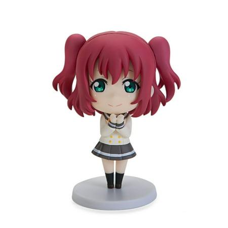 Love Live! Sunshine!! Kurosawa Ruby CYaRon! Ver. Chobirume PVC Figure (Love Live Halloween Figure)