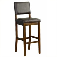 Linon Miller Counter Stool, 24 inch Seat Height, Multiple Colors
