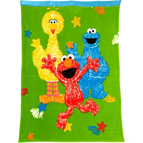 Sesame Street Elmo & Friends Toddler Blanket