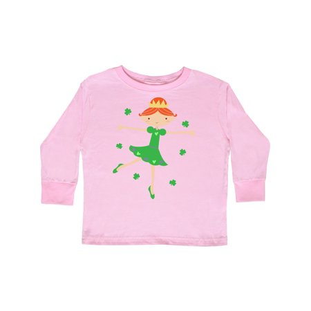 Irish Princess St Patricks Girls Toddler Long Sleeve T-Shirt