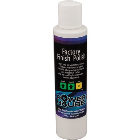 Powerhouse Factory Finish Bowling Ball Polish, 5 oz.