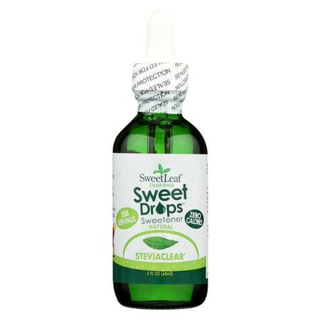 Sweet Leaf Sweet Drops Sweetener Steviaclear - 2 fl