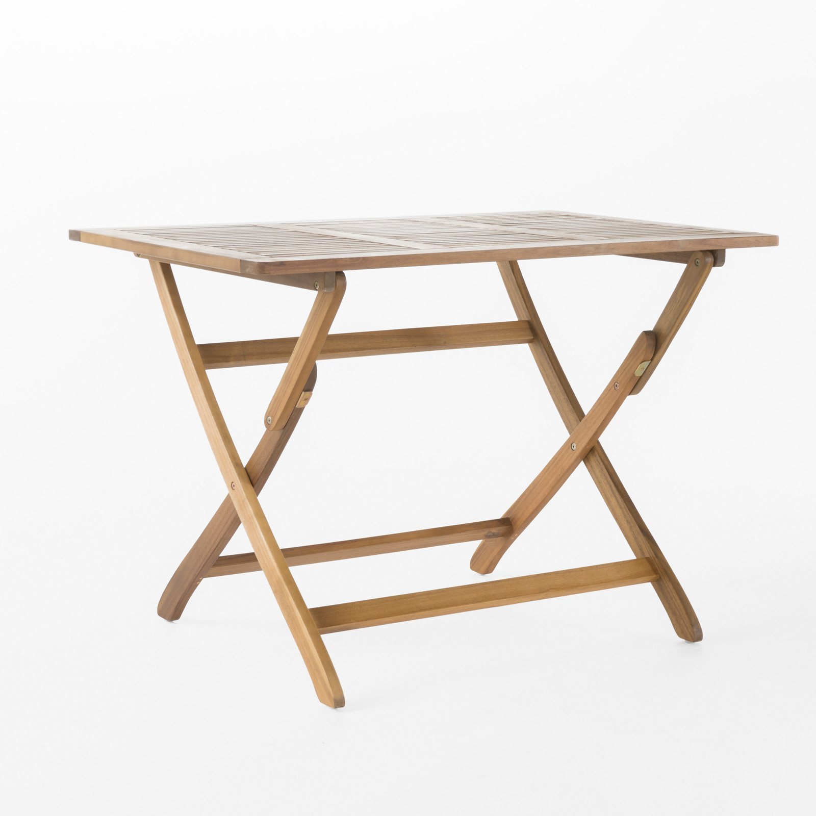 Pablo Outdoor Acacia Wood Dining Table