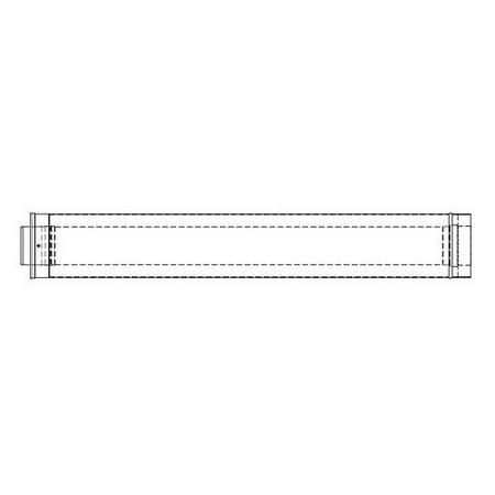 Rheem RTG20151D-1 36 in. Vent (Rheem Power Vent)