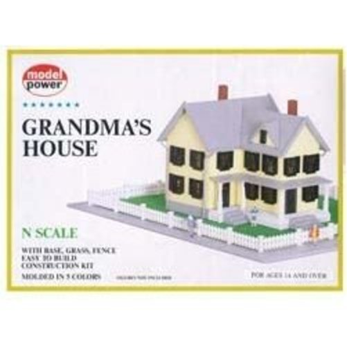 Grandmas House N Scale Train Building