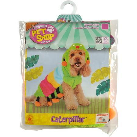 Rubie's Caterpillar Cutie Pet Costume - Extra - Butterfly And Caterpillar Costumes