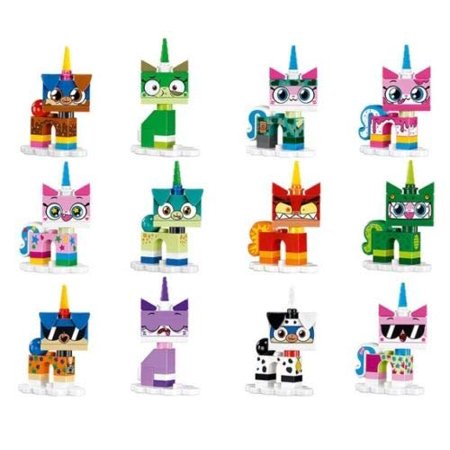 Lego Cartoon Network Minifigures Unikitty Series - Complete Set 12 Figures - Cartoon Network Action Pack