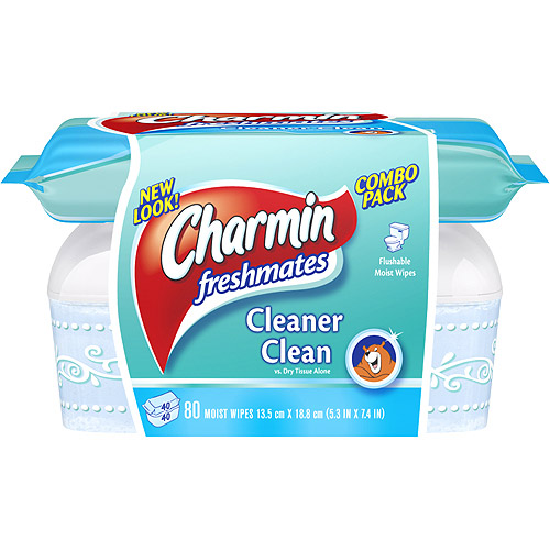 Charmin Freshmates Adult Flushable Wipes, 80 ct
