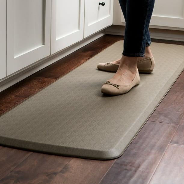 Gelpro Elite Anti Fatigue Kitchen Comfort Mat 20x72 Linen Granite Grey Walmart Com Walmart Com