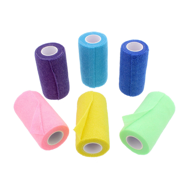 Rural365 | Self Adhesive Bandage Vet Wrap 4 Inch Self Adherent Wrap Assortment