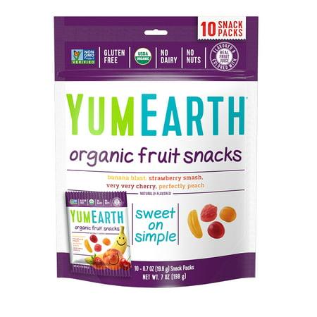 YumEarth Organic Fruit Snacks 7 oz (10 Snack Packs)](Yummy Halloween Snacks)