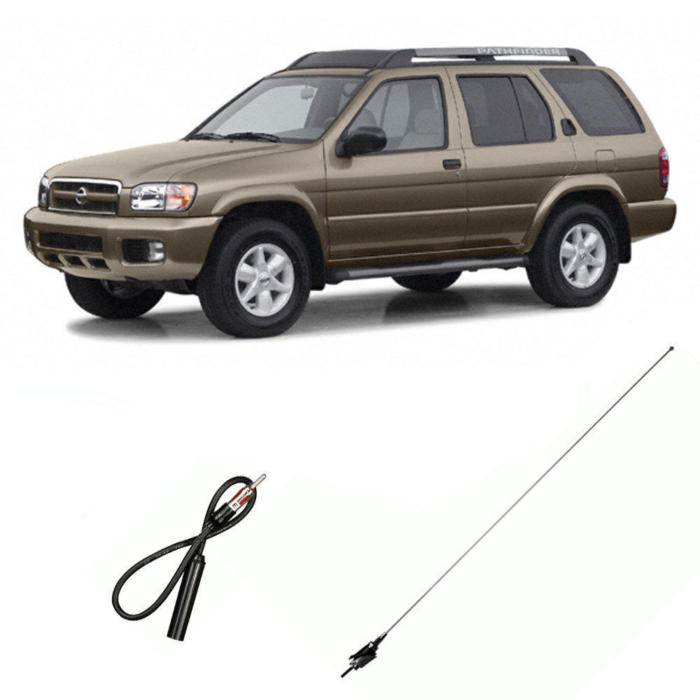 fits nissan pathfinder 1996 2002 factory replacement radio stereo custom antenna walmart com walmart com fits nissan pathfinder 1996 2002 factory replacement radio stereo custom antenna walmart com