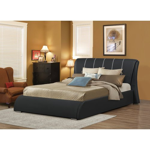 Wildon Home  Courtney Upholstered Panel Bed