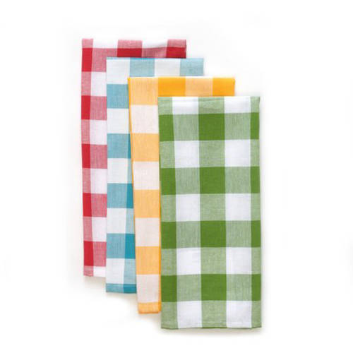 The Pioneer Woman Charming Check Kitchen Towel Set, 4 pk by TOWN AND COUNTRY LIVING