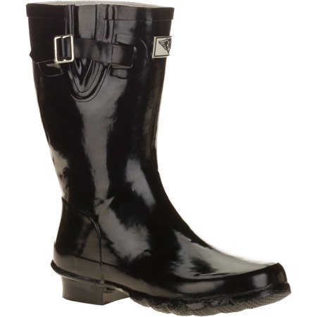 Forever Young Women's Short Shaft Rain Boots (Best Boots For Standing On Concrete All Day)