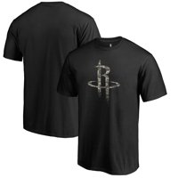 Houston Rockets Fanatics Branded Cloak Camo T-Shirt - Black