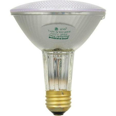 Sylvania 14768 75-Watt PAR30 Wide Flood Long Neck Halogen Light Bulb